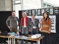Gruppenfoto auf dem Stand von SCORPIUS FORGE