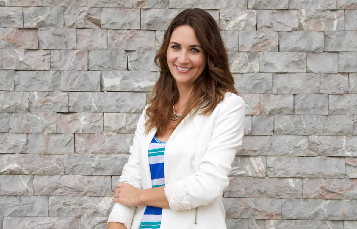 Anja Lange Moderatorin
