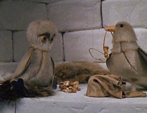 The Owl And The Raven – Die Eule und der Rabe