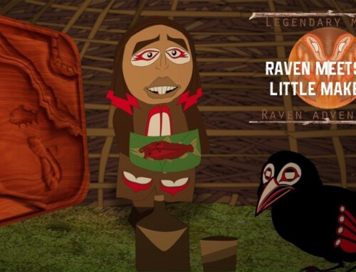 Raven and the Little Makers